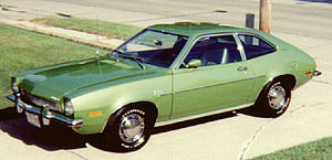 Subcompact car - 1972 Ford Pinto Runabout