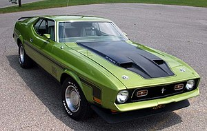 Ford Mustang Mach 1 - 1972 Ford Mustang Mach 1