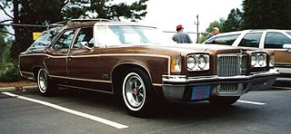 Pontiac Grand Safari Motor vehicle