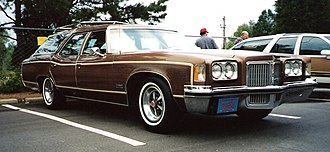 Pontiac Grand Safari - 1972 Pontiac Grand Safari