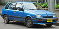 1986 Holden Barina (ML) hatchback (2011-12-06).jpg