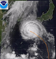 1989 Pacific typhoon Judy on July 27.png