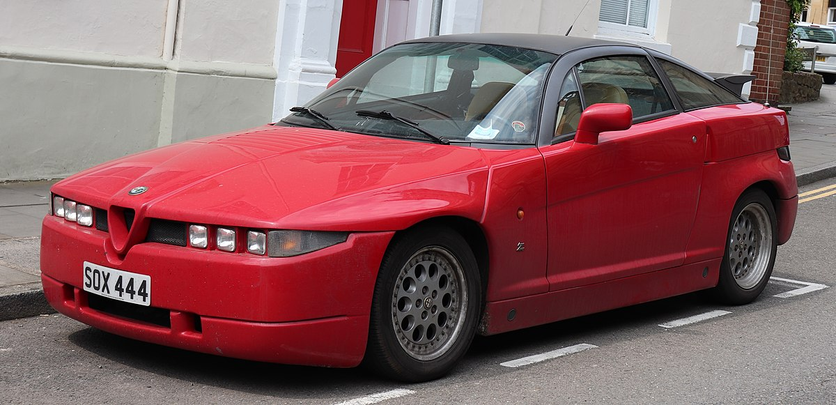 2 Door Convertible >> Alfa Romeo SZ - Wikipedia