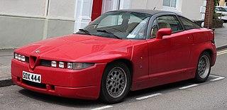Alfa Romeo SZ sports car