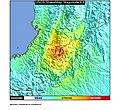 1994 Páez River earthquake ShakeMap.jpg