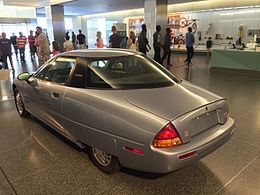 1997 General Motors EV1 at Smithsonian National Museum of American History 4of8.jpg