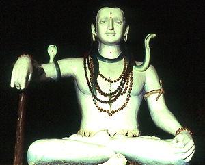 Siddha Yoga - Shiva statue, Shree Muktananda Ashram, New York