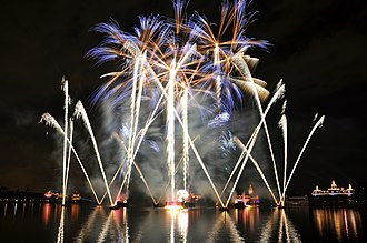 IllumiNations: Reflections of Earth - Image: 1 epcot illuminations 2010