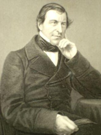 Frederic Thesiger, 1st Baron Chelmsford - Lord Chelmsford, stipple engraving by   D. J. Pound c. 1859