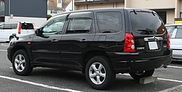 1st generation Mazda Tribute rear.jpg