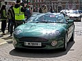 2002 Aston Martin DB7 Volante 5935 cc at Horsham English Festival 2018.jpg