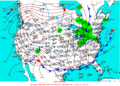 2003-01-06 Surface Weather Map NOAA.png