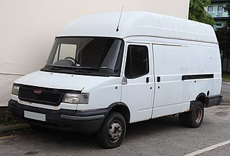 LDV Convoy - Post-facelift high-topped LDV Convoy van