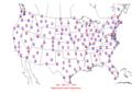 2006-05-27 Max-min Temperature Map NOAA.png