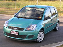 Ford Fiesta Sublime Green Metallic Paint Colour