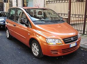 Fiat Multipla - 2004–10 Fiat Multipla facelift (front)