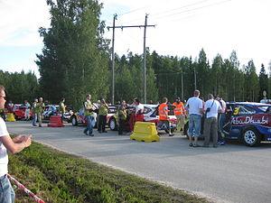 2009 Rally Finland shakedown 01.JPG
