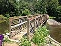 2013-08-17 12 23 19 Foot bridge over the Lake Sylva Dam.jpg