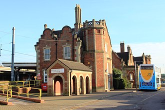 Stowmarket - Station from the front