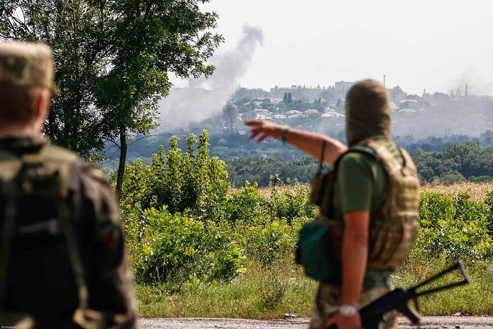 2014-07-31. Батальон «Донбасс» под Первомайском 29