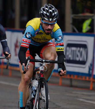 Zachary Bell - Bell at the 2014 Tour of Alberta