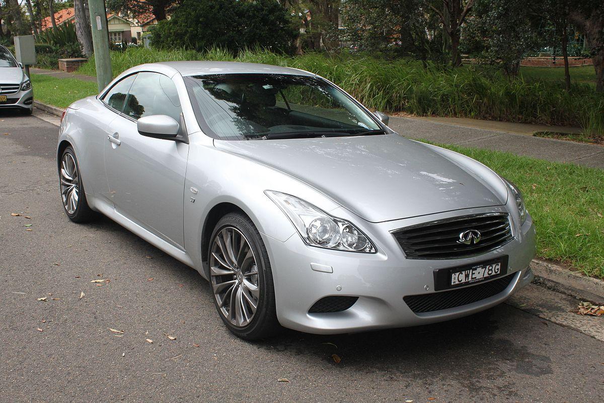Mercedes Benz Coupe >> Infiniti Q60 - Wikipedia
