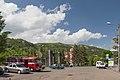 2014 Prowincja Wajoc Dzor, Dżermuk, Plac z przystankiem autobusowym (03).jpg