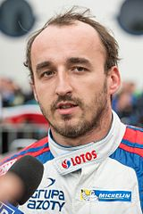 Robert Kubica podczas FIA World Rally Championship 2014