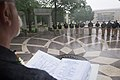 2015 Law Enforcement Explorers Conference reading in the rain.jpg