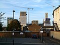 2015 London-Woolwich, Cannon Sq buildings from Masons Hill.jpg