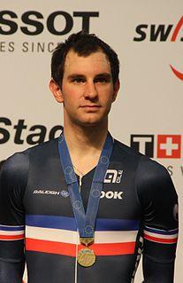Morgan Kneisky French cyclist
