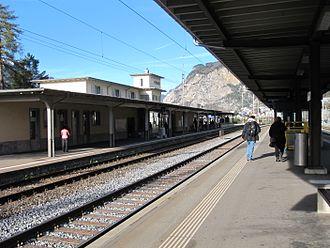 Flüelen - Flüelen railway station