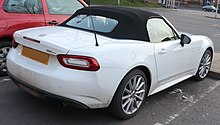The 124 Spider Rear