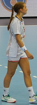 2016 Women's Junior World Handball Championship - Group A - HUN vs NOR - Helene Gigstad Fauske.jpg