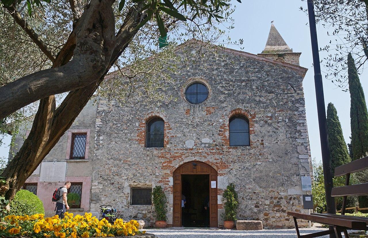 Sirmione, Italy - San Pietro in Mavino Church