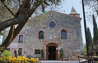 Sirmione - San Pietro in Mavino church.