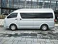 2017 Toyota HiAce (side), Batu City.jpg