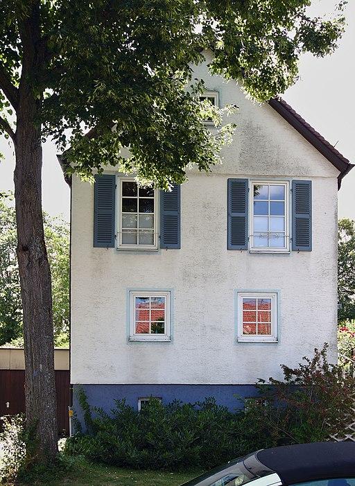 Wohnhaus Hermann-Pleuer-Straße 9, Kochenhofsiedlung Killesberg Stuttgart (Architekt: Paul Schmitthenner)