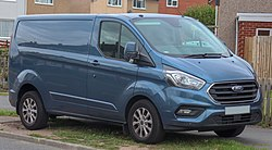 2018 Ford Transit Custom 280 Limited facelift 2.0 Front.jpg