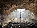 2019-12-10 Light rail tunnel. John street square.jpg