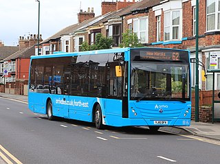 Arriva North East Bus operator in North East England
