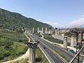 201908 Emei-Miyi Railway and G5 Jingkun Expressway in Lugu.jpg