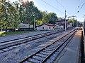 2020-07-05 Ilirska Bistrica train station from Regiojet 1047 Prague to Rijeka.jpg