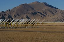21-Centimetre Array pods of the Primeval Structure Telescope, pointing to the North Celestial Pole.jpg