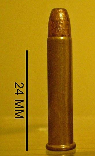 .22 Winchester Magnum Rimfire - Image: 22WMR