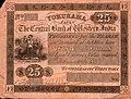 25 Dollars - Central Bank of Western India, Yokohama branch (1866).jpg