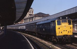 Harwich International railway station - Harwich Parkeston Quay in 1982