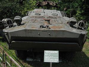 2P27 tank destroyer at the Muzeum Polskiej Techniki Wojskowej in Warsaw (3).jpg