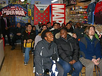 Ultimate Spider-Man (TV series) - Image: 3.31.12Ultimate Spider Man TV Launch Party By Luigi Novi 3