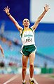 301000 - Athletics track Tim Sullivan hands up - 3b - 2000 Sydney race photo.jpg